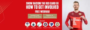 Participate in our Show Racism the Red Card webinar
