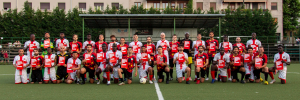 St Ambroeus FC & AS Velasca join Show Racism the Red Card